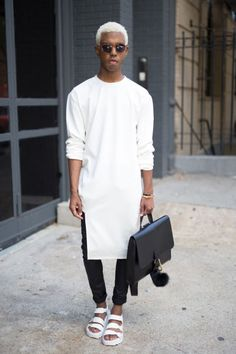The Best Street Style from Spring 2017 Men's Fashion Week | StyleCaster