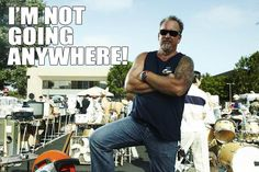 Darrell Sheets was quoted on TMZ that he was leaving Storage Wars, but now we know he is staying on. Storage Auctions, Entertainment Blogs, What Really Happened, Reality Tv, Mens Sunglasses, War, Shit Happens, Reading, Funny