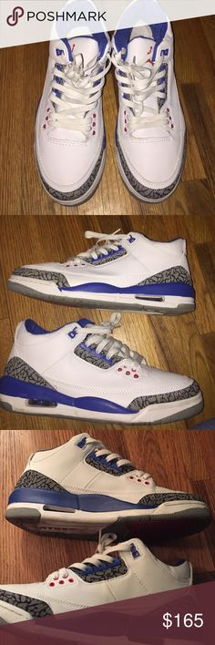 Air Jordan retro Condition 9/10. Just a little dirt in front of shoe that can be wiped off. Jordan Shoes Sneakers