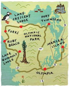 Seattle Magazine | Northwest Travel/Weekend Getaways/Road Trips | Real Road Trips: A Weekend Jaunt to the Olympic Peninsula