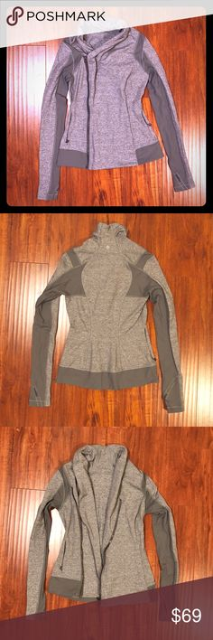💖Like New! Lululemon Bhakti Yoga jacket This discontinued, much sought after Lululemon jacket is like new without any signs of wear. And is unbelievably soft as Lulu products are known for. Don't miss out! lululemon athletica Jackets & Coats