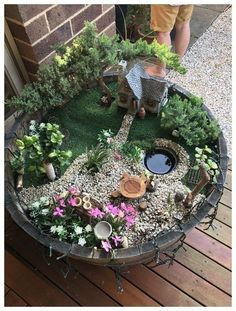 62 DIY Miniature Fairy Garden Ideas to Bring Magic Into Your Home Vertikale G. - 62 DIY Miniature Fairy Garden Ideas to Bring Magic Into Your Home Vertikale Gärten sind der neu - Indoor Fairy Gardens, Fairy Garden Plants, Mini Fairy Garden, Fairy Garden Houses, Gnome Garden, Miniature Fairy Gardens, Succulents Garden, Fairy Gardening, Succulent Plants