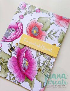 ESAD 2017 Occasions Catalogue & Sale-A-Bration Blog Hop. Dragonfly Dreams bundle with Inside the Lines designer series paper. Juana Create