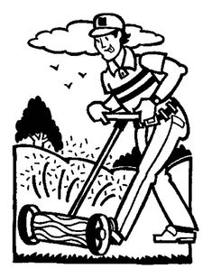 Cutting Grass In Garden Coloring Pages : Color Luna Garden Coloring Pages, Online Coloring, Colorful Garden, Colour Images, Grass, Pictures, Art, Photos, Herb