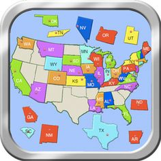 Free Printable History Tests Other Maps To Print Continents - Us map games name the states