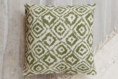 Painterly Ikat by Alethea and Ruth at minted.com