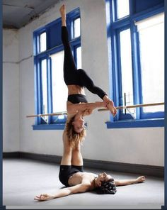Acro yoga Loved and pinned by www.downdogboutique.com
