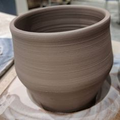 I'm thinking planters are in my future... ------------------------------------------------------------- #wip #pottery #handmadeceramics #homemadepottery #imadeitoutofclay #playwithclay #acreativedc #districtclay #handmade #greenware #wheelthrown #flowers #madeindc #handmade #wheelthrown #claypride #ceramics #ceramic #handmade #crafts #clay #etsy #etsyfinds #instapottery #shopetsy #bisqueware