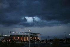 Storm Clouds over McLane Stadium