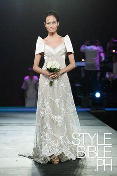 #filipiniana #designergowns #it'smorefuninthephilippines Modern Filipiniana Gown, Filipiniana Wedding, Philippines Outfit, Bridal Gowns, Wedding Gowns, Winter Gowns, Filipino Fashion, Casual Wedding, Designer Gowns