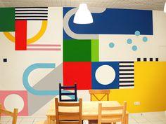 SREDA wall graphics on Behance