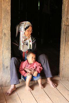 Akha Woman, Shan State, Myanmar