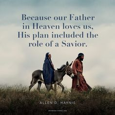 """""""Because our Father in Heaven loves us and has as His purpose 'to bring to pass [our] immortality and eternal life,' His plan included the role of a Savior—[#JesusChrist]."""" From #ElderHaynie's inspiring #LDSconf facebook.com/223271487682878 message lds.org/general-conference/2015/10/remembering-in-whom-we-have-trusted. Learn more facebook.com/LordJesusChristpage and #passiton. #ShareGoodness"""