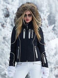 skit outfit l ski jacket l trip fashion l winter fashion Snow Fashion, Winter Fashion, Botas Ski, Best Parka, Coats For Women, Clothes For Women, Ski Clothes, Mode Mantel, Outfit Invierno