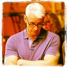 Anderson Cooper. I have a weird obession with this man. He is just so attractive.