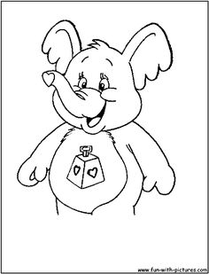 care bear cousins coloring pages - Google Search