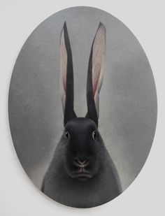 Shao Fan,  Hare looking into the mirror, 2009