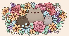 Pusheen Family!