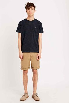 Shore Leave by Urban Outfitters Blake Shorts in Tan
