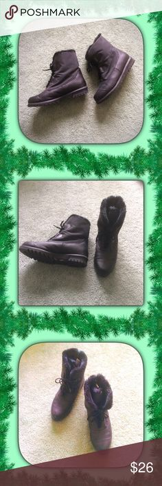 Black All Weather Boots by Stormers / sz 8 Black All Weather Boots by Stormers / sz 8.  Please feel free to make an offer - Enjoy BIG discounts on bundles & save $$$ on shipping!  I package safely & ship fast!  TY 💜💜💜 S3 Stormers Shoes Winter & Rain Boots