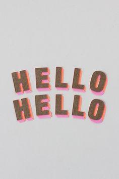 La importancia de decir hola, y que entiendan que estás saludando