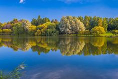 Lake in early Autumn by Alex Saluk on 500px