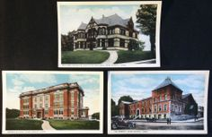 Early Postcard Lot - 3 Views of New London Conn. CT - Unused - Rare!!!