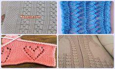 ÇOK ŞIK ÖRGÜ DESENLERİ VE VİDEOLU TÜRKÇE ÖRGÜLER Baby Knitting Patterns, Cross Stitch, Crochet, Tights, Sacks, Dots, Tejidos, Punto De Cruz, Seed Stitch