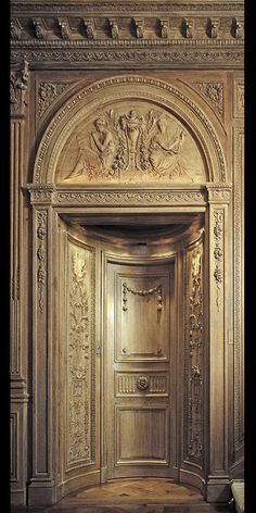 Incredible baroque reproduction boiseries by Feau & Cie Modern Architecture Design, French Architecture, Villa, 18th Century, Baroque, Art Deco, French Interiors, The Incredibles, Interior Design