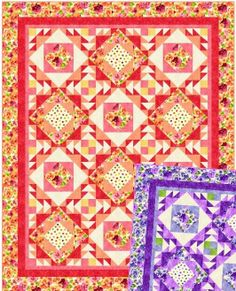 Perfect Pansy | My Quilt Kit