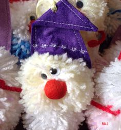 """Gnomes"" thread & sintetic fabric  Size 15x7 Size 17x7"