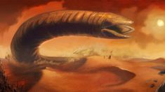 Shai Hulud, Brian Herbert says the first draft of Eric Roth's 'Dune' reboot script is done for Denis Villeneuve and Legendary Pictures. Frank Herbert, Robert Redford, Science Fiction, Types Of Dragons, Dune Art, Denis Villeneuve, Legendary Pictures, Full Hd Pictures, Sci Fi Novels