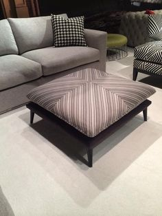 Nathan Anthony Furniture Element Square Ottoman Clic Home High Point Market House