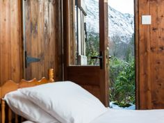 Stunning views from the twin bedroom