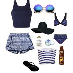 Untitled #701 by kaitlyn-jaconelli on Polyvore featuring Ally Fashion, Wet Seal, Missoni, Havaianas, Revo, Nivea, Hawaiian Tropic and Organix