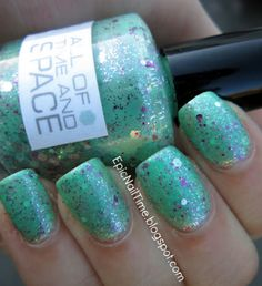 Nerd Lacquer All Of Time and Space.  epicnailtime.blogspot.com