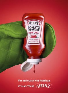 HOT ketchup!! LOL Heinz Fiery Chilli Tomato Ketchup