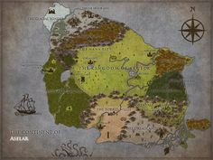 Trying to prepare for first time as a DM. I know you should always start small, but I got really into it. Welcome to the continent of Aselar! Made in inkarnate