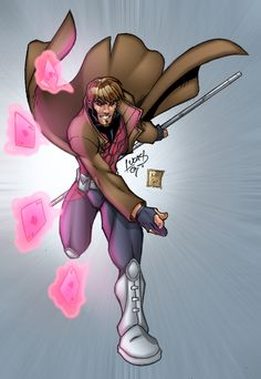 Gambit EVOLUTION 07 COLORED by *LucasAckerman