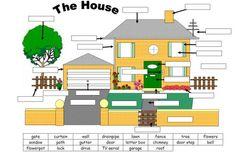 집에 관한 단어를 배울 때 집을 직접 그려서 나타내보기도 하고 그려진 집 주변의 환경의 빈칸에 자신이 아는 단어와 매치시켜 빈칸을 채우는 학습을 함으로써 단어 능력도 향상시킬 수 있다.