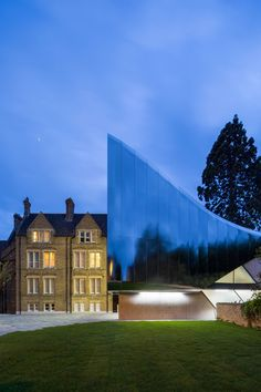 zaha hadid investcorp building oxford university designboom