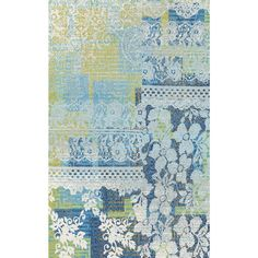 Fusion Floral Lace Multi 7 ft. 10 in. x 10 ft. 10 in. Indoor Area Rug