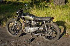 Honda CB250 Brat Tracker by Salty Speed Co.