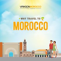 Morocco is a great choice for the Summer Holidays. Just be sure to get through the whole information and grasp the facts about this beautiful country before planning for it. Just go through the guide to clear all your doubts and plan accordingly. Morocco Travel, Beautiful Places To Visit, Holiday Destinations, Just Go, Family Travel, Facts, Vacation, Holidays, Explore