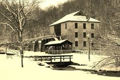 The Old Grist Mill, Spring Mill State Park, IN