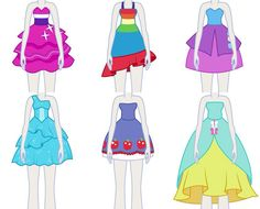 My Little Pony: Equestria Girls. Fall Formal Dresses and Gowns of the Mane 6!!!