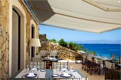 Cap Rocat, a refurbished 19th century fortress overlooking a private bay in Mallorca.  Make it a stop on your Porsche tour of the island.   #JetsetterCurator