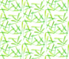 Green Leaves fabric by countrygarden on Spoonflower - custom fabric