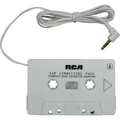 RCA Cassette Adapter - Walmart.com  ***I don't need this EXACT one, but I really want one of these car cassette tape aux cords.