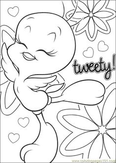 Tweety Coloring Pages | 360ColoringPages | 330x236